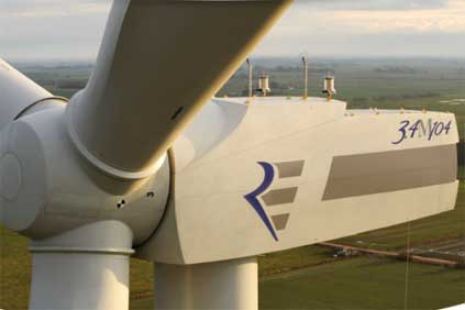 Repower's M104 3.4MW turbine is part of the Juwi deal
