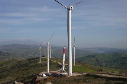 Swiss energy group Repower now owns 39% of the 30 MW Giunchetto wind farm, composed of 850 kW Vestas turbines