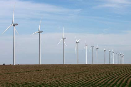 The Central Plains wind farm is wholly owned by Westar