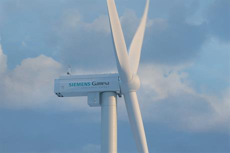 The SGRE turbines ordered have rotors of 170 metres and will operate at up to 6.2MW