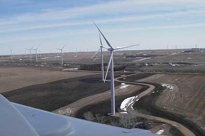 Google has invested in the 120MW Ashtabula II wind farm in North Dakota