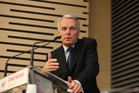 French prime minister Jean-Marc Ayrault