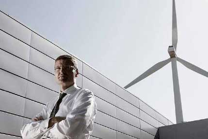 Vestas CEO Ditlev Engel... under pressure following poor results
