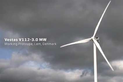 The Simo project will use Vestas' V112 3MW turbine
