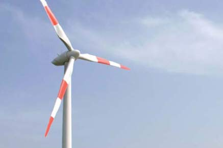 The Powerwind PW56 900KW turbine will be used at the Bulgarian site