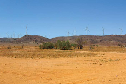 What the Silverton Wind Farm migth look like