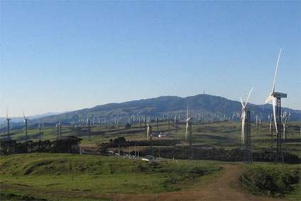 New Zealand's Taraua wind farm: broken into by thieves