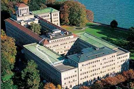 The World Trade Organisation building in Geneva