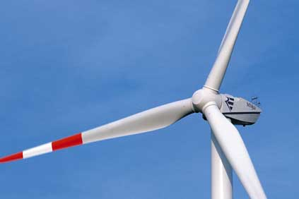 Repower's MM92 turbine is designed for areas with low to medium wind speeds