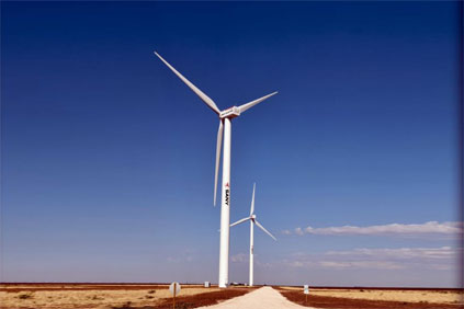 The Ralls project uses Sany Electric wind turbines