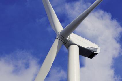 A Nordex N100/2500 turbine