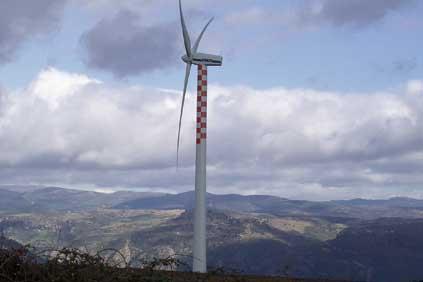 Vestas v52 480kw turbine