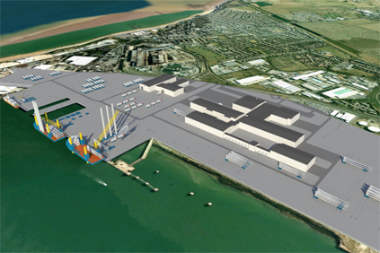 The Sheerness plant will assemble Vestas V164 turbine