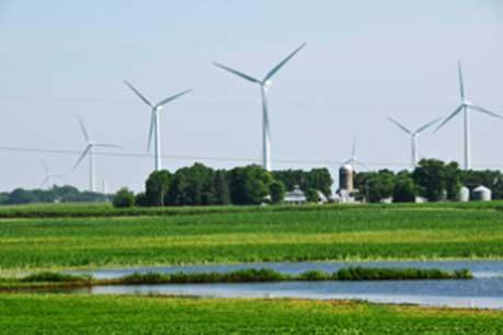EDF's Lakefield wind farm in southern Minnesota
