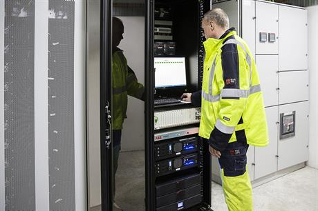 ABB supplied the lithium-ion based battery storage system to the Copenhagen site