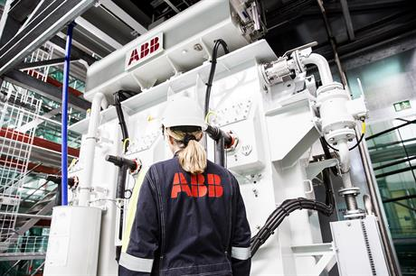 Hitachi will buy an 80.1% stake in ABB's power and grids business, with the deal due to close in 2020