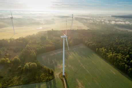 New wind capacity internationally offset renewables reductions in Spain (pic: Acciona Energia)