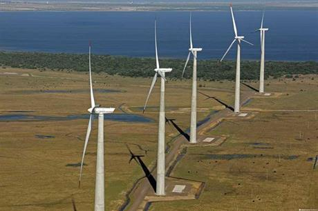 Approximately 45% of the 47.6GW total auction capacity was taken up by wind projects