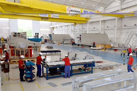 Acciona opened a nacelle assembly plant in Bahia earlier this year