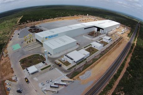 The Alstom tower factory in Bahia