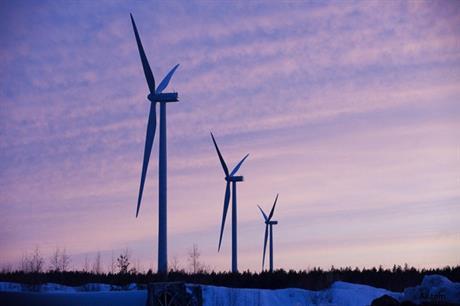Alstom's ECO 110 turbines at the Muukko wind farm
