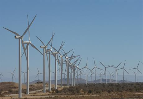 The project features GE and Vestas turbines