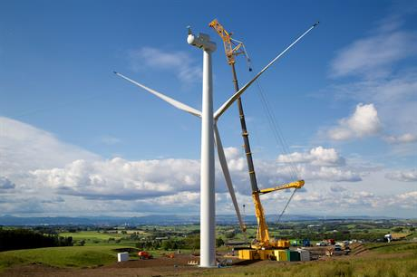 2020 Renewables sold the Ardoch and Over Enoch wind cluster (above) to NTR in September 2016