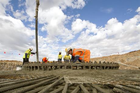 Construction of the first 100MW phase at Hornsdale is under way