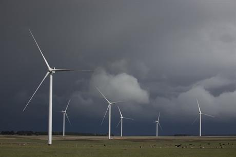 AGL Energy's 420MW Macarthur project is the largest wind farm in Victoria, Australia