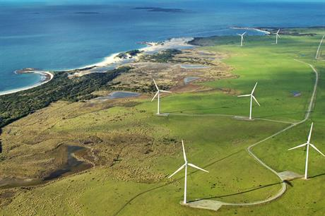 The 168MW Musselroe project, owned by Woolnorth Wind, will test frequency response services