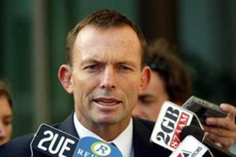 Prime minister Tony Abbott made an election pledge to remove the carbon tax