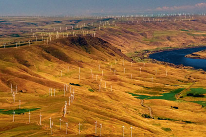 At 500MW, Windy Flats/ Windy Point is one of the biggest wind farms in the US