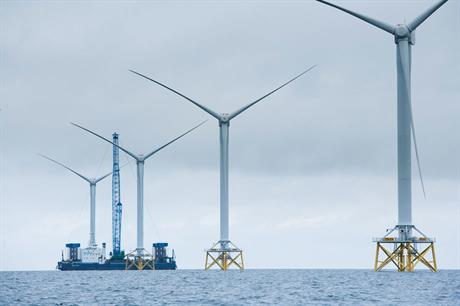 UK 2012 wind power generation largely attributed to offshore growth