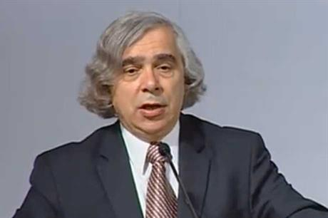 US energy secretary Ernie Moniz