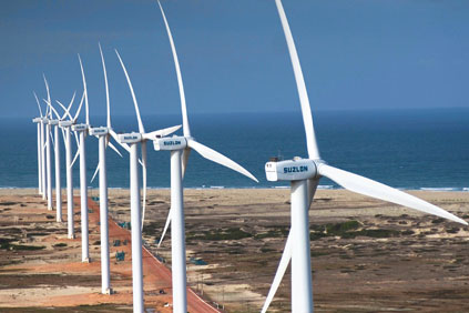 The 25MW Paracuru wind farm in Ceara, Brazil went online in 2008