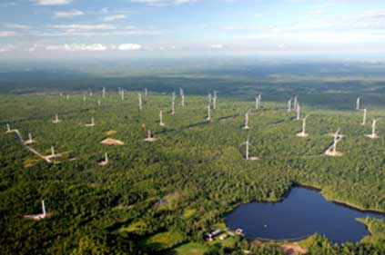 Noble owns the Altona wind farm in New York state