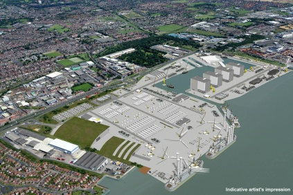 Siemens' proposed wind turbine factory at Hull