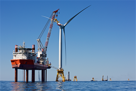 The 30MW Block Island project off Rhode Island is still the US's only operating offshore wind farm (pic: Deepwater Wind)