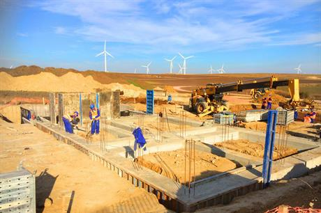 Construction of the Babadag III wind project was completed this year (pic: Afaplan)