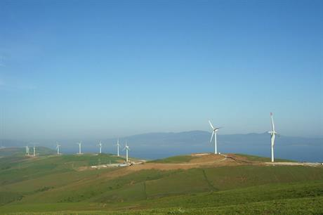 The 142.5MW Balikesir wind farm in north-western Turkey (pic credit: GE)