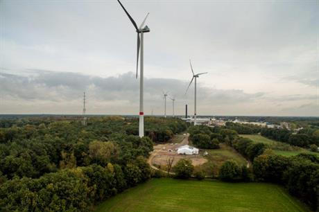 Up to 700MW more wind power could be installed in Flanders under the new targets (pic: Electrabel)
