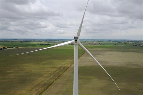 Pattern Energy along with partner Samsung completed the 100MW Belle River project (above) in October