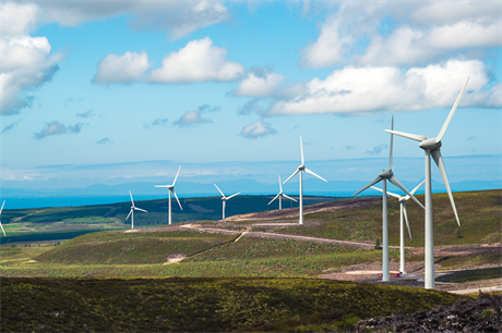 Airvolution is seeking permitting for a 35MW extension to Statkraft's 66.7MW Berry Burn wind farm (above) in Scotland