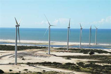 Brazil has almost 3GW of wind currently operating