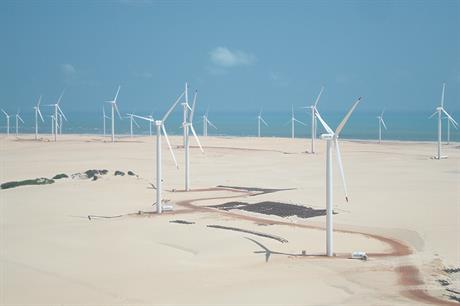 Servtec's Bons Ventos Aracati wind park in Ceara, north-east Brazil