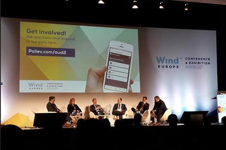 Siemens Gamesa, Iberdrola, ERG, Renewable UK, and the Department for International Trade all spoke on WindEurope's Brexit panel