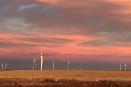 Pattern Energy's Broadview wind farm in New Mexico came online in 2017