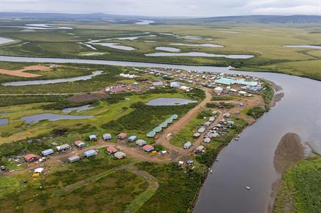 The village of Buckland, west Alaska, will benefit from ABB's micro-grid solution (pic: NANA Archives)
