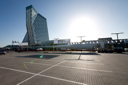 An LM blade take centre stage outside EWEA2012