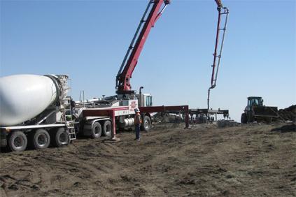 Construction work begins at TransAlta's Ardenville wind farm